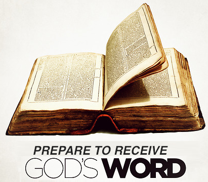 Prepare to receive God's Word