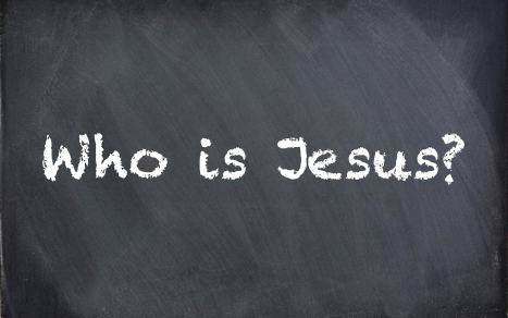 Who is Jesus chalkboard